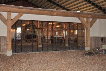 Authentieke buitenpui met dubbele deuren, Project Het Ruiterhuys