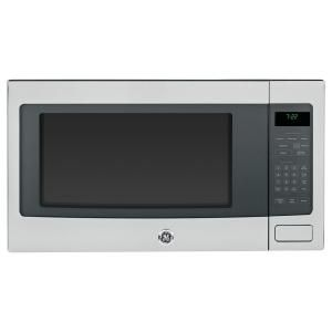 GE, Profile 2.2 cu. ft. Countertop Microwave in Stainless Steel with Sensor Cooking, PEB7226SFSS at The Home Depot - Mobile