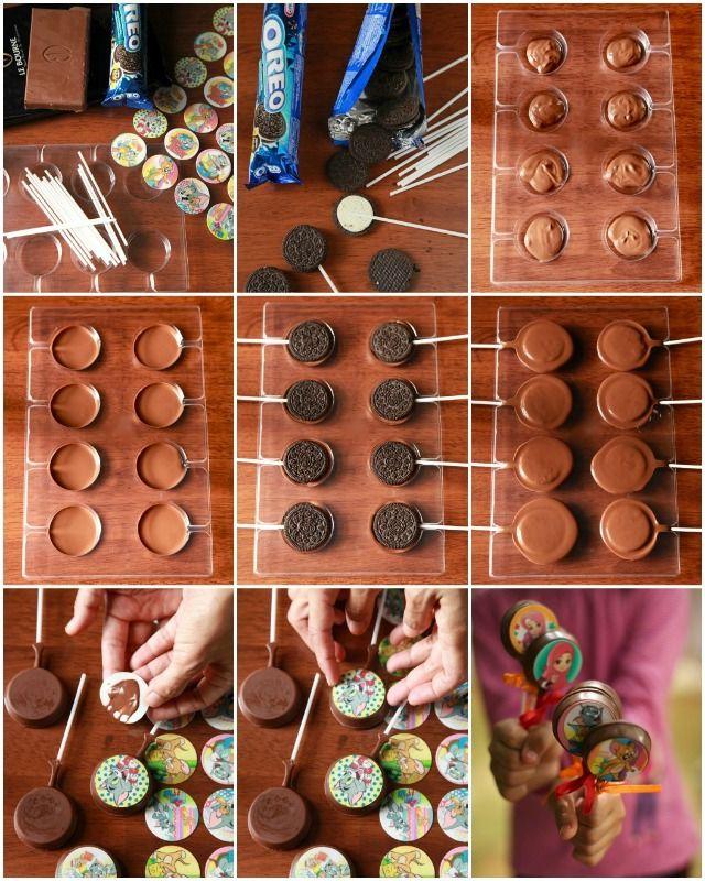 OREO Chocolate lollipops