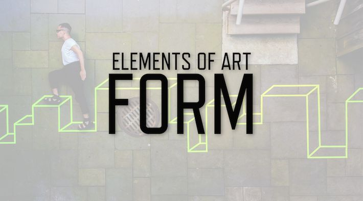 Different Elements Of Visual Arts : Best elements of art form space lessons images on