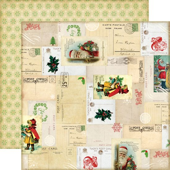 Echo Park - Reflections Collection - Christmas - 12 x 12 Double Sided Paper - Letters to Santa at Scrapbook.com