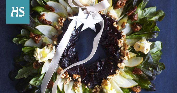 Joulusalaatin juju on kastikkeessa, joka sitoo maut yhteen ja tuo salaattiin jouluista tunnelmaa.