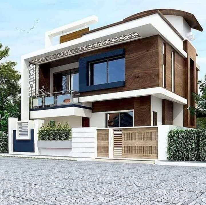 35 Stunning Modern House Design Ideas Engineering Discoveries In 2021 Modern Exterior House Designs House Outer Design Bungalow House Design