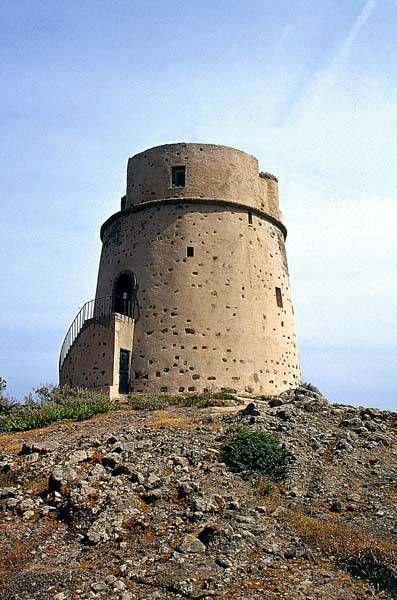 Sant'Antioco - torre Canai