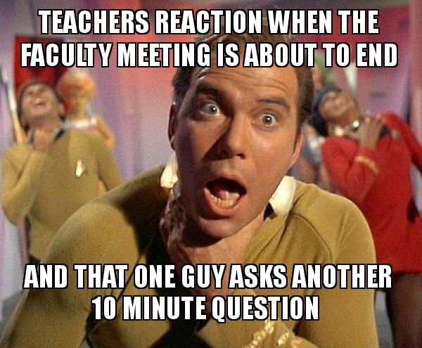 #professional development woes #nomorefiredrills.com teacher meme
