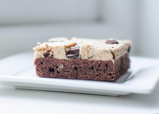 cookiedough brownie