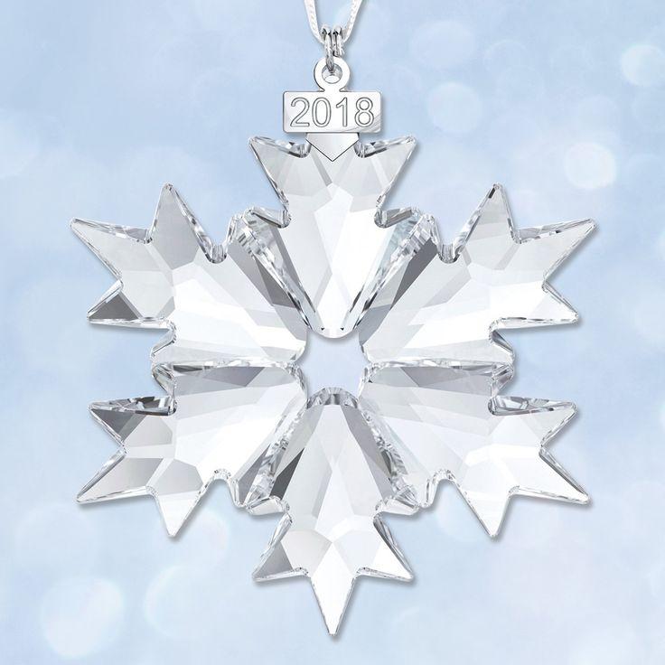 29 best Christmas ornaments: Swarovski snowflakes images ...