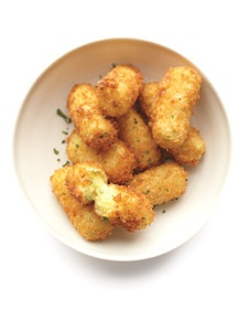 Potato Croquettes... another leftover mashed potato recipe, Tried these- the kids liked them, they were pretty good but not outstanding.