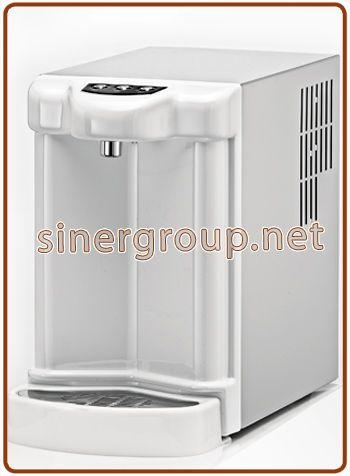 Aquais refrigeratore sopra banco 2, 3 vie acqua fredda + ambiente + frizzante fredda 6~19lt./h.