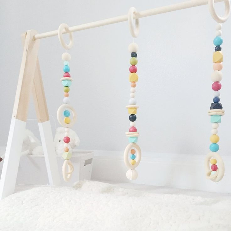 Could it be? A functional, modern baby gym stylish enough for your living room. Designed to provide a feeling for the aesthetics of shape and color, our wooden gyms are made with a timeless style that