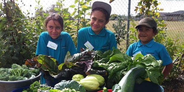 The Garden to Table programme provides kids with more than domestic skills.