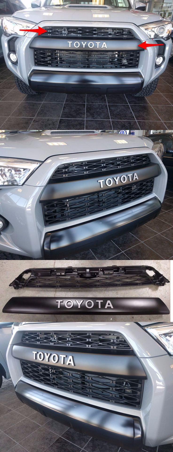 auto parts - general: 2014 2015 2016 2017 Genuine Oem Toyota 4Runner Trd Pro 2 Piece Grille Set -> BUY IT NOW ONLY: $575 on eBay!