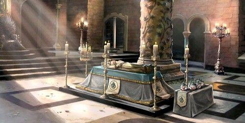 Game of Thrones (GOT) example #208: Jon Arryn's Funeral  Concept Art - game-of-thrones Photo