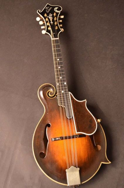 1924 Gibson F5 Lloyd Loar. I've played 3 or 4 of these Loar era mandolins (I think there may be as many as 250 in existence).  And while I recognize the historical value of these instruments, they are no better or worse than modern mandolins.  And the modern ones will cost you less then 10% of the $175,000 asking price on this one!