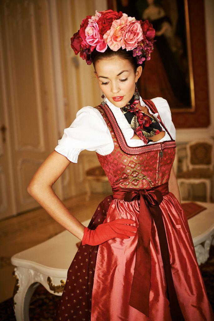 Sportalm, beautiful Dirndl couture from Austria.