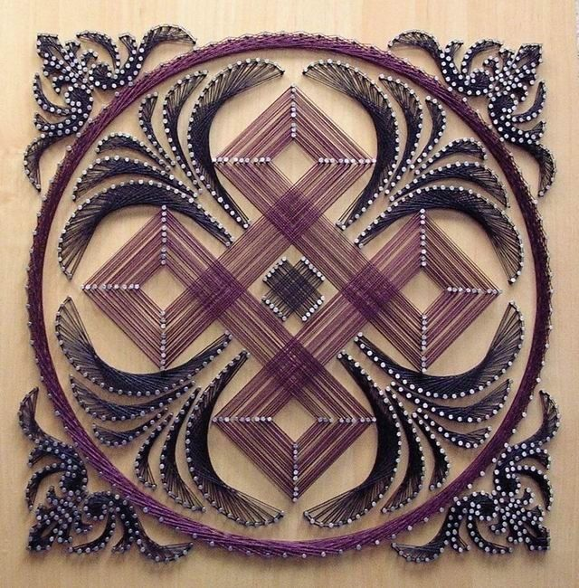 string art | String Art by Remus Hubati | Art, inspiration, design