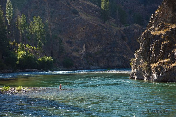 Fishing on the Middle Fork Salmon River