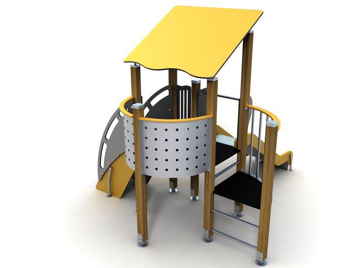 VG5305A - Tek Kuleli Ahşap Oyun Grubu | Ahşap Çocuk Oyun Parkları | Ahşap Oyun Grupları | Çocuk Oyun Parkları | Doapark