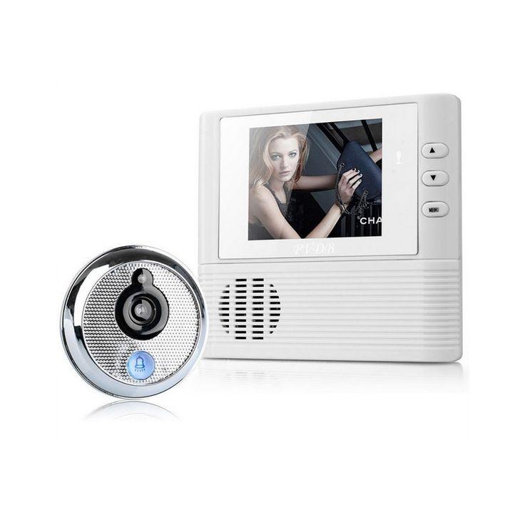 Vidéo porte cloche 2.8 pouce Lcd vidéo Porte Caméra Sonnette judas Porte viewer Caméra de Sécurité À Domicile sonnette judas spectateur