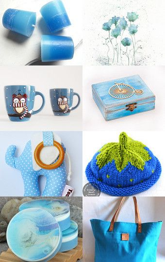 Gifts in Blue by Cristina on Etsy--Pinned with TreasuryPin.com