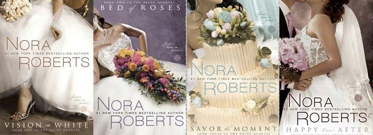 Nora Roberts Bridal Quartet: Worth Reading, Bride Quartet, Reading Book, Nora Robert, The Bride, Bridal Quartet, Romances Novels, Book Series, Quartet Series