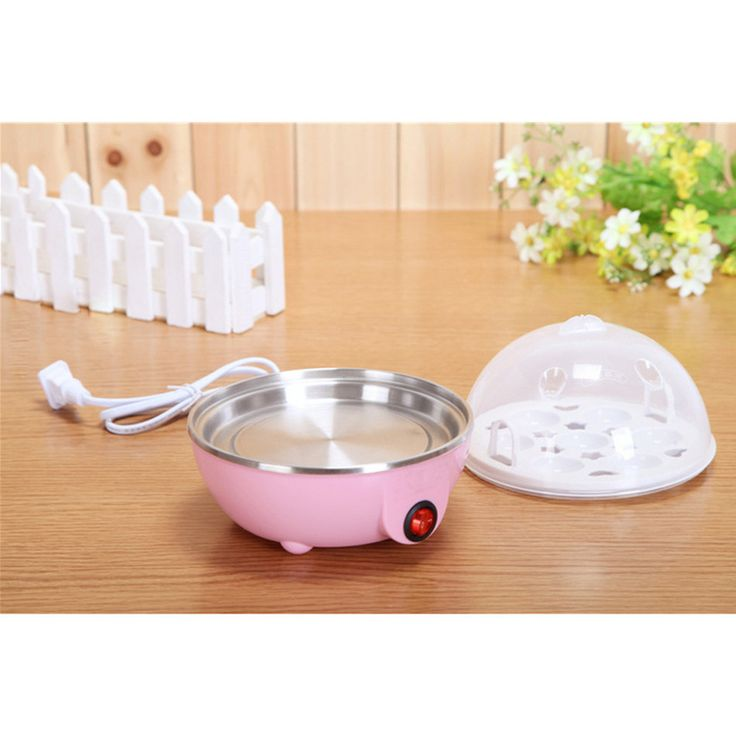 Sale Us Plug Multi Function Electric Egg Cooker For Up To 7 Eggs Cooker Boiler Steamer Cooking Tools #Electric #Boiler