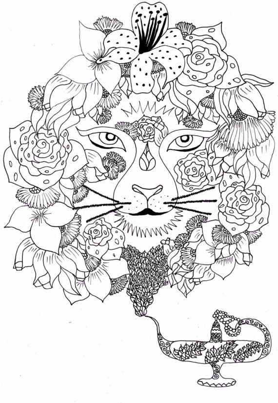 408 best coloring lion tiger images on pinterest coloring lions and drawings