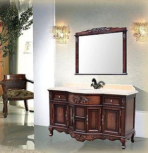 17 best ideas about antique bathroom vanities on pinterest - Old fashioned bathroom furniture ...