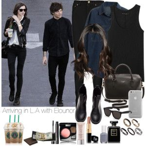 Arriving in L. A with Elounor
