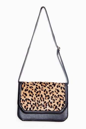 Leopard Satchel - StyleSays