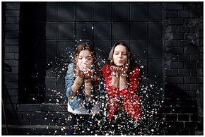 Foto aufgenommen bei Outdoor-Fotoshooting mit zwei besten Freundinnen in Berlin … – Karin