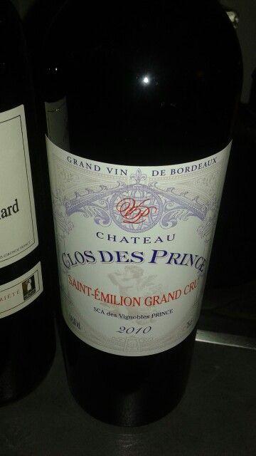 Saint emilion grand cru- clos des prince  2010 Salon du vigneron