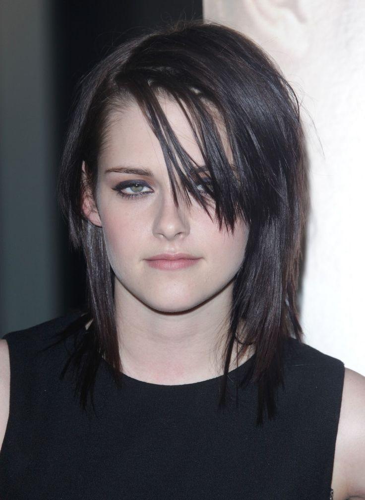 Kristen Stewarts rocker chic hairstyle!