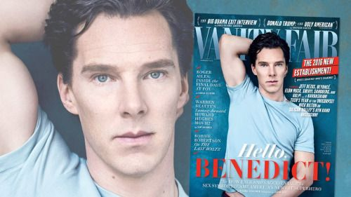 Benedict Cumberbatch interview about SHERLOCK, DOCTOR STRANGE, and more in VANITY FAIR (November 2016).