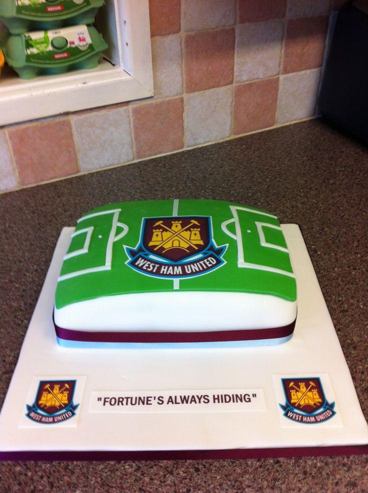 West Ham football cake