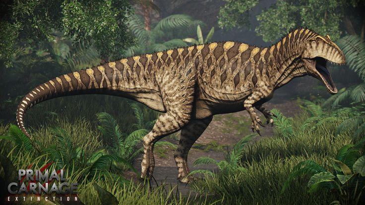Acrocanthosaurus.+Primal+Carnage:+Extinction+by+Swordlord3d.deviantart.com+on+@DeviantArt