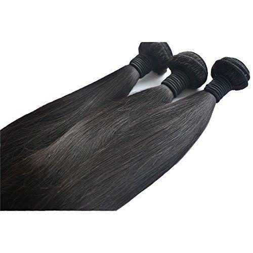 Moresoo komplette Kopf Sew in Weave Glatt EchtHaar Tresse Extensions, Brasilianisch Virgin Haar 16+18+20zoll/40+45+50cm Natural Black 1B Moresoo http://www.amazon.de/dp/B00WO2BFGA/ref=cm_sw_r_pi_dp_pg39vb05652DR