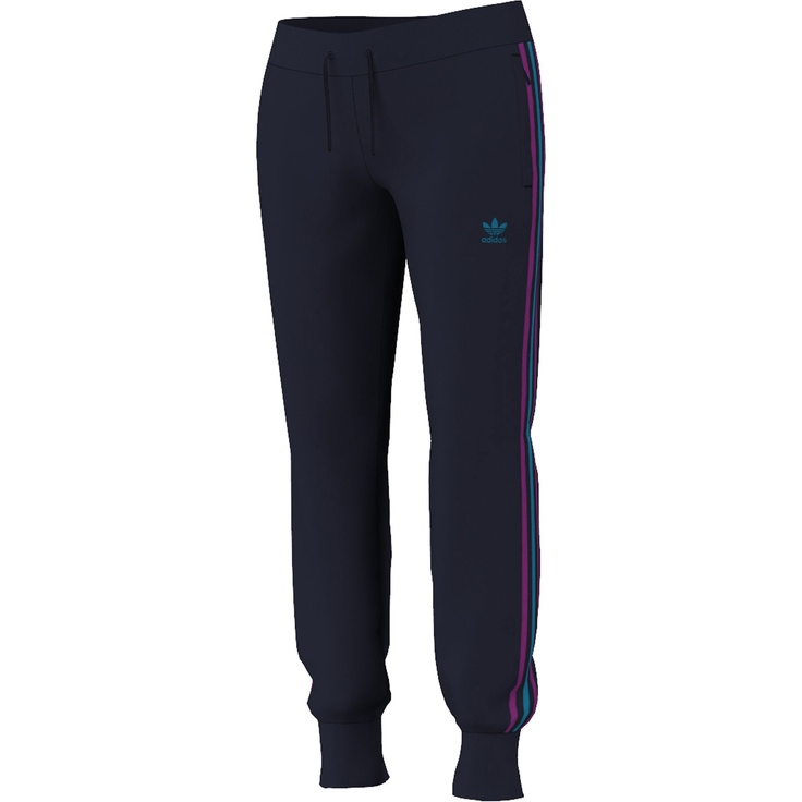 Pantaloni allenamento da ragazza multicolore con zip Donna, Legend Ink 68 €