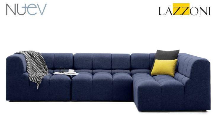 Lazzoni garantisi ile modüler koltuk Muffin. İstediğin boyutta, istediğin şekilde! #dekorasyon #koltuk #mobilya
