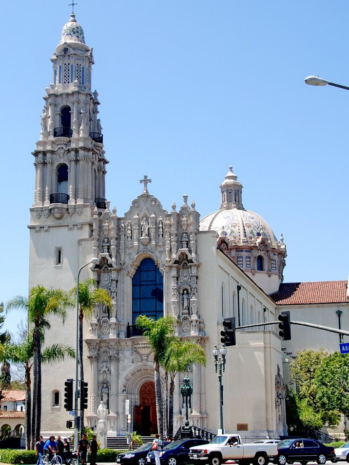 St. Vincent de Paul Roman Catholic Church, Albert C. Martin, Architect 1923-25, Los Angeles, California