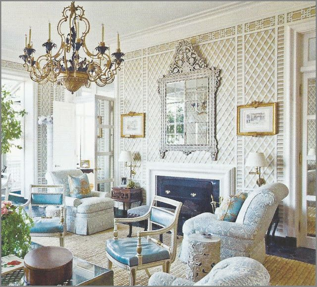Chinoiserie Chic: Albert Hadley