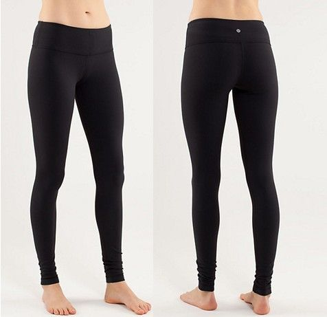 Lululemon Athletica Yoga Wunder Under Pants Black (LOVE the long ones that go all the way down the ankle)