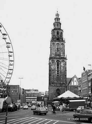 Meikermis Grote Markt Groningen 1977