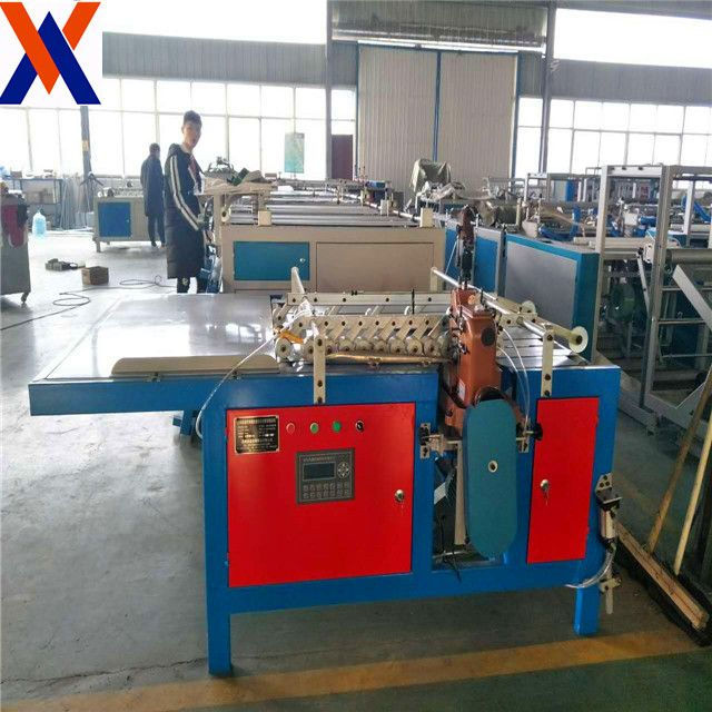 High Performance Top Quality garbage Bag making Machine with ultrasonic used sewing machines