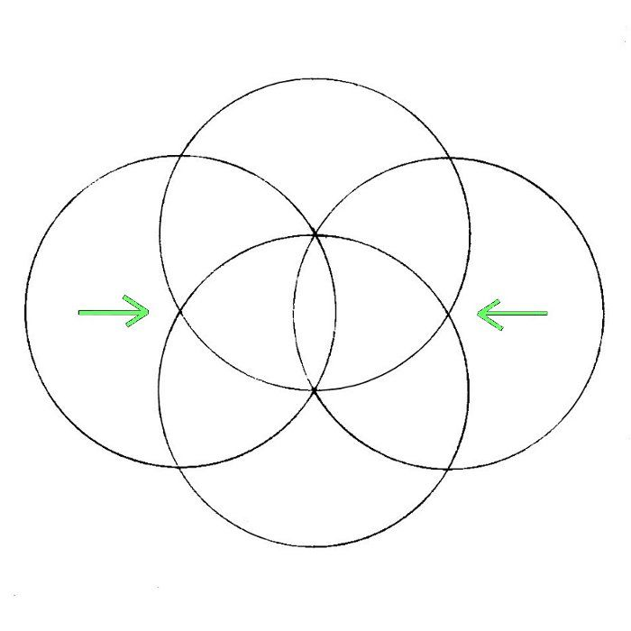 how to draw flower of life