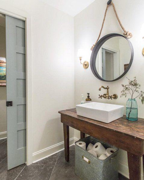 Best 25 half baths ideas on pinterest half bathroom - Half bathroom decorating pictures ...