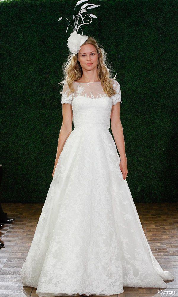 Watters Spring 2015 Wedding Dresses — Venetian Bridal Collection | Wedding Inspirasi