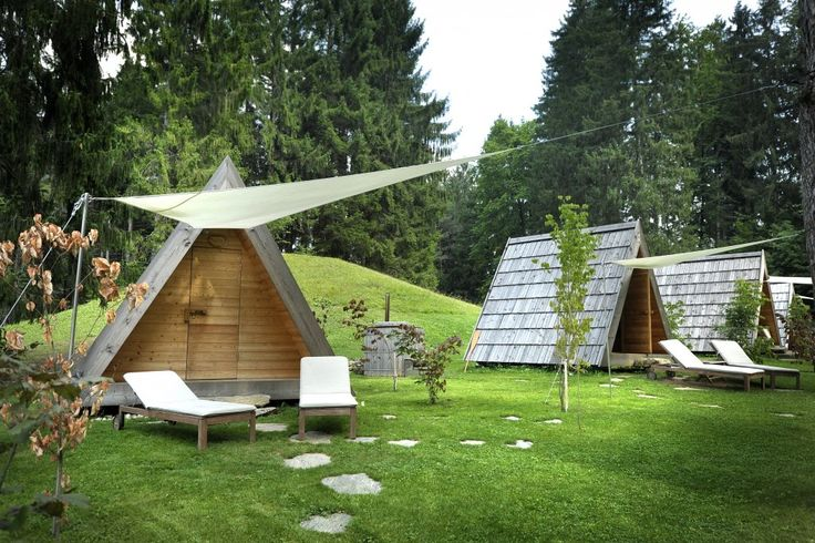 Kamp Bled - Camp Bled; wooden camping houses for rent