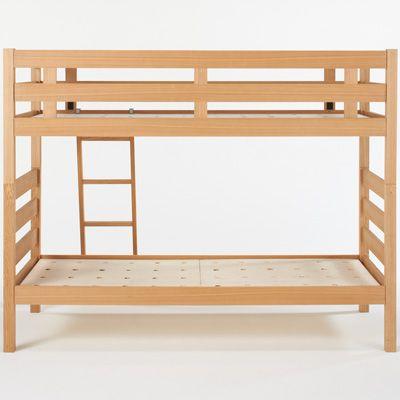 タモ材2段ベッド