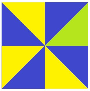Math Spies: Quilt Square Code #1 -- students use fractions to solve a puzzle and find a code word